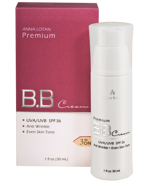Anna Lotan Premium BB Cream Spectrum UVA/UVB SPF 36  Color piles (329-0)
