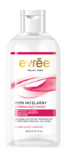 EVREE Evre Facial Care micellar make-up remover face to dry and normal skin 300ml