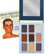 The Balm Meet Matte Nude eye shadow palette 25,5g