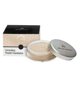 Anna Lotan Concealing Powder Foundation SPF17  Rose Beige 203