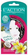 L'ACTION Monoi Face Mask maseczka z olejkiem monoi 6g