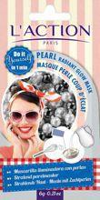 L'ACTION Pearl Radiant Glow Mask liftingujaco - rozswietlajaca maseczka do twarzy 6g