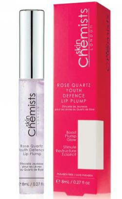 Skin Chemists Rose Quartz Youth Defence Lip Plump - Powiększający i przeciwstarzeniowy błyszczyk do ust 8 ml